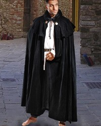 Cape, Cloak Manteau, OS