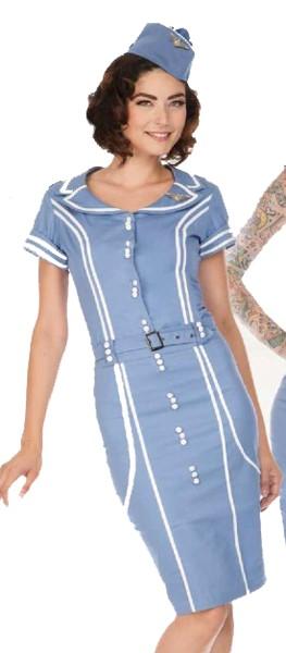 60s Airline Stewardess Uniform