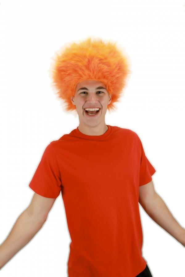 Fuzzy Wig Orange