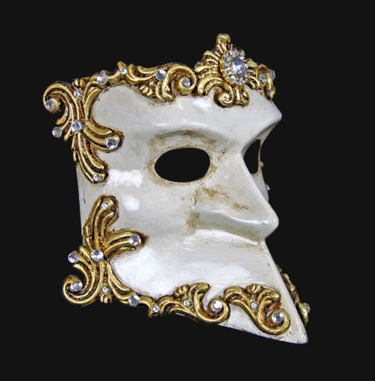 Casanova Barroque Bauta Mask