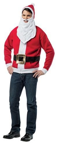 Santa Hoodie, Small