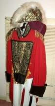 1800s Regency Napoleon DLX Red