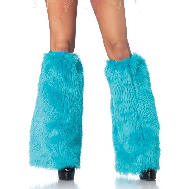 Leg Warmers, Furry Lurex, O/S