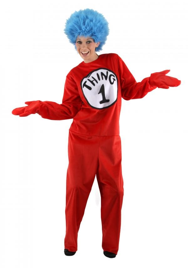 Cat in the Hat Thing 1 2 S/M