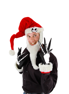 Santa Hat kit, Jack Skellington