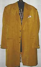 Zoot Suit 42L Amber Wide Lapel