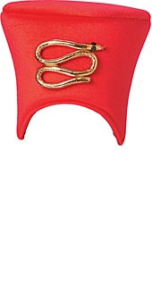 Egypt, Pharoah Headpiece RED, Adult