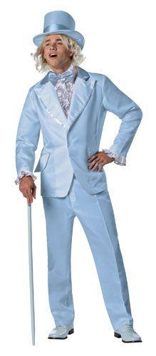 Dumb Dumber Blue Tuxedo, OS Adult