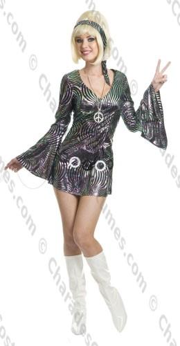 60s Go Go Disco Diva, XL