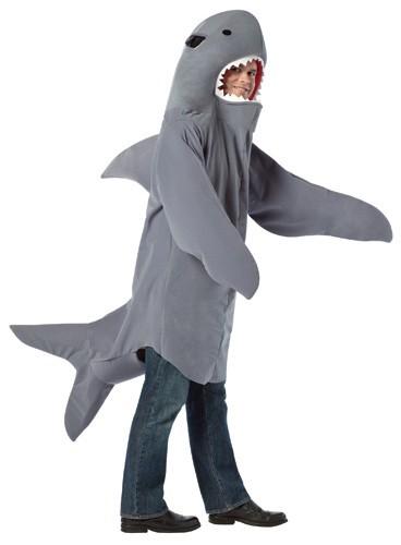 Shark Bodysuit, OS Adult