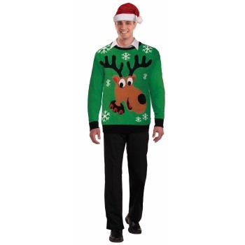 Reindeer Sweater, L 42-44