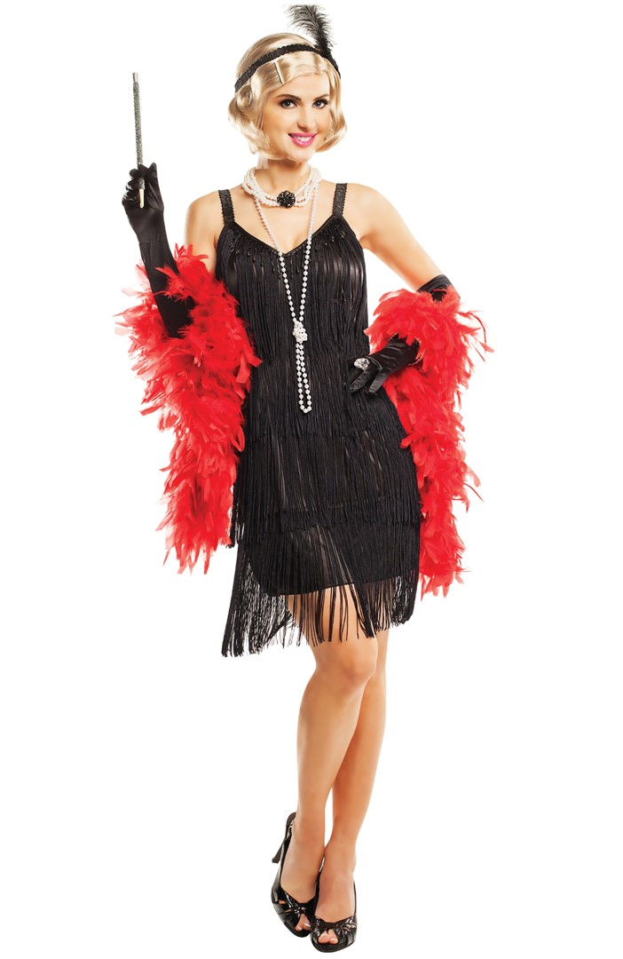 20s Hollywood Flapper, Large