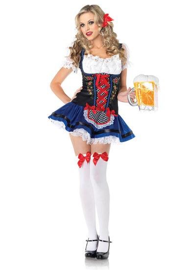 German Beer Garden Flirty Frauline, XS
