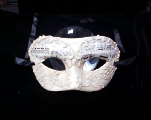 Opera Music Mask