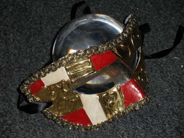 Colombina Art Deco Style Mask