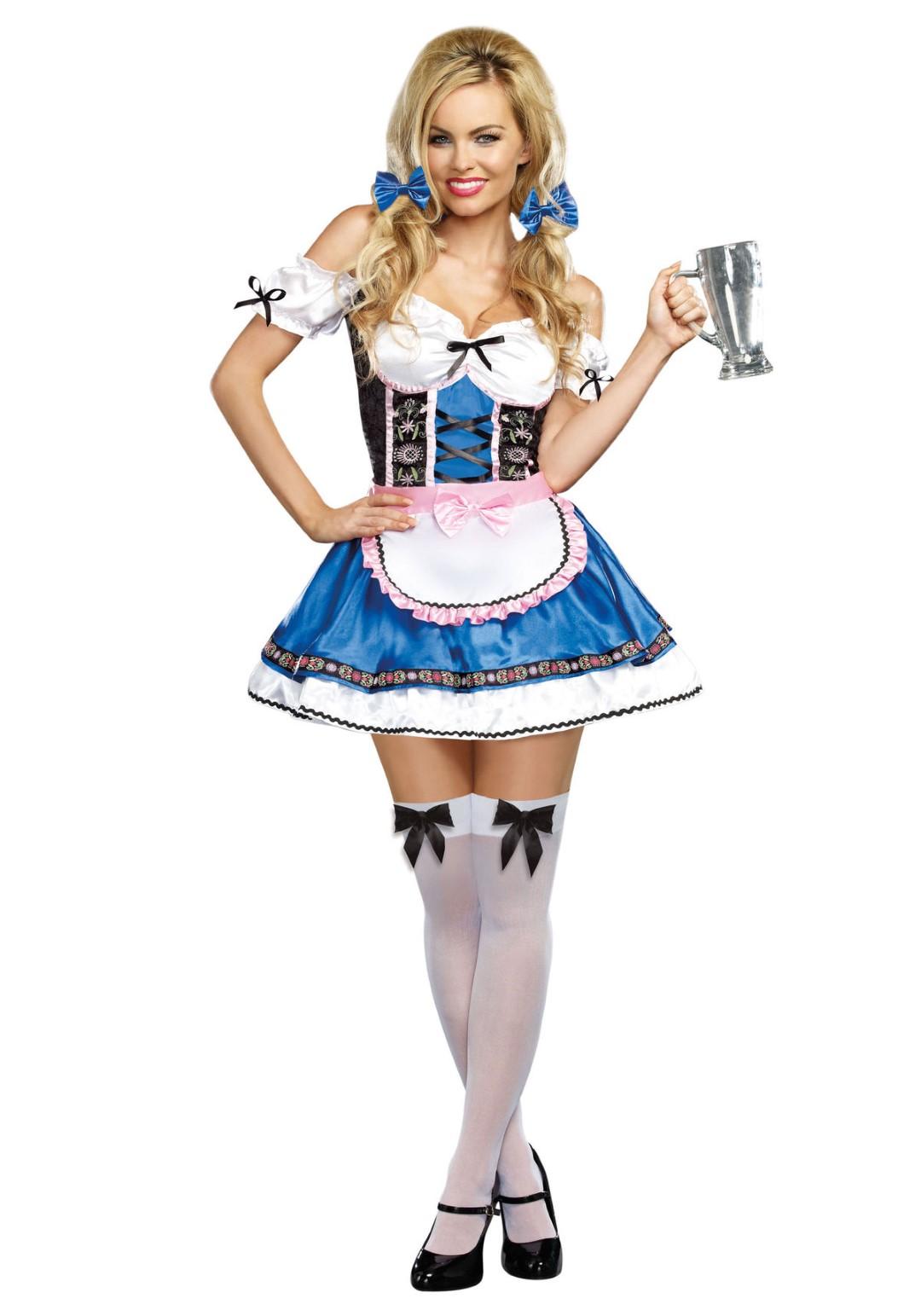 Bavarian Beer Garden Girl, 3X/4X