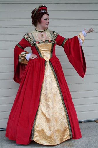 Anne Boleyn Red Queen