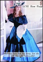 1860s Antebellum, Southern Belle, Bow Peep