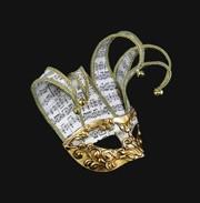 Colombina Jolli Musica Stucchi Mask