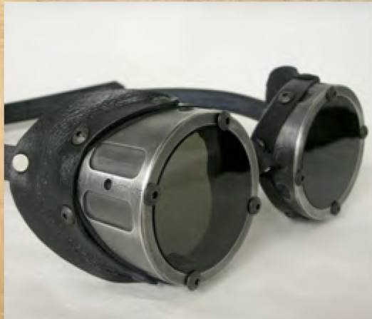 Goggles, Machined