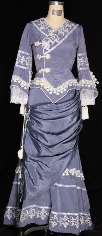 Victorian Couture Blue