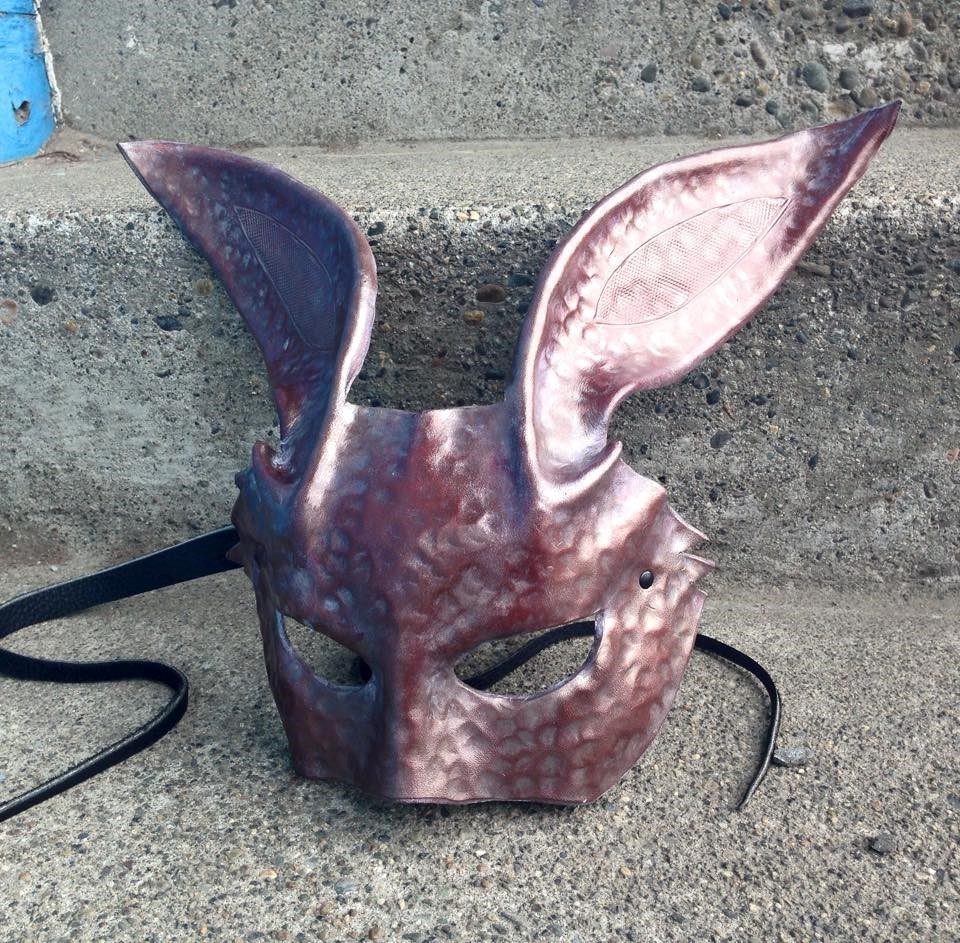 Bunny, Hammered Mask