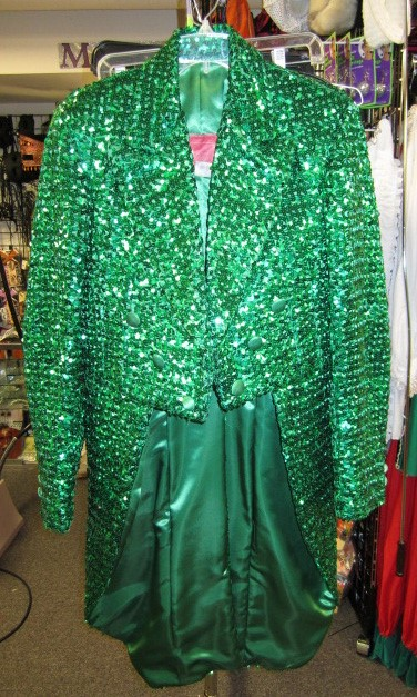Tailcoat, Sequin Men's Green