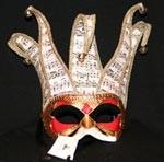 Jolli Musica Paper Mache Mask