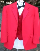 Retro Tux, Red Devil