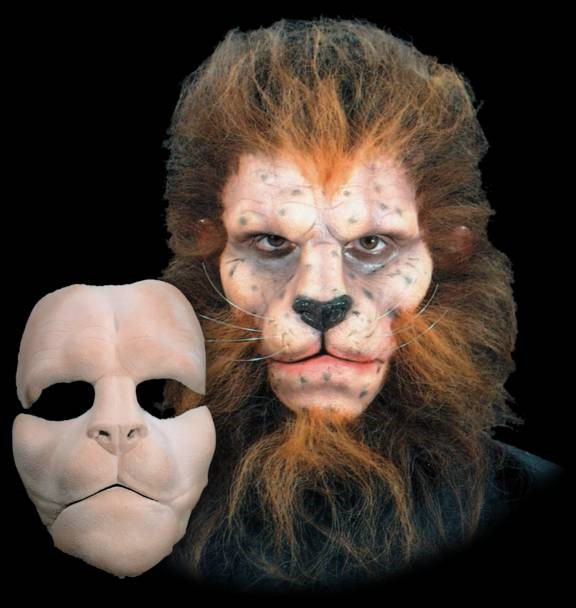 Prosthetic Full Face, Lion
