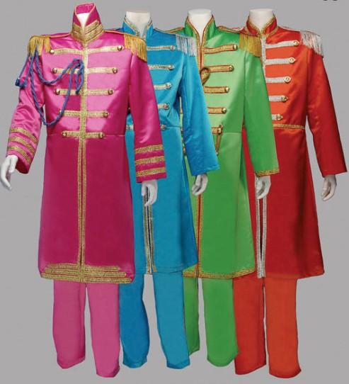 Sgt Pepper Beatles, Blue