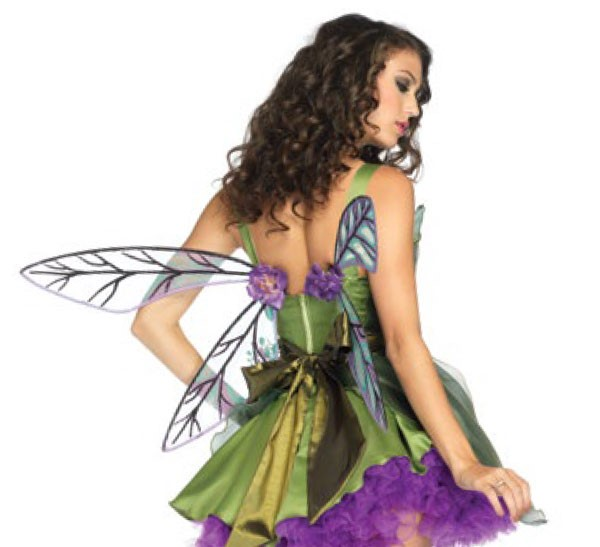 Fairy Wings, Strapless Woodland