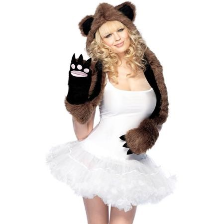 Bear hat w/ paws
