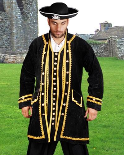 Pirate Coat Captain Peter Black, M