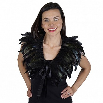 Cape, Rooster Coque Feather