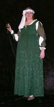Italian Renaissance Gown Green