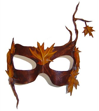 Maple Leaf Mask