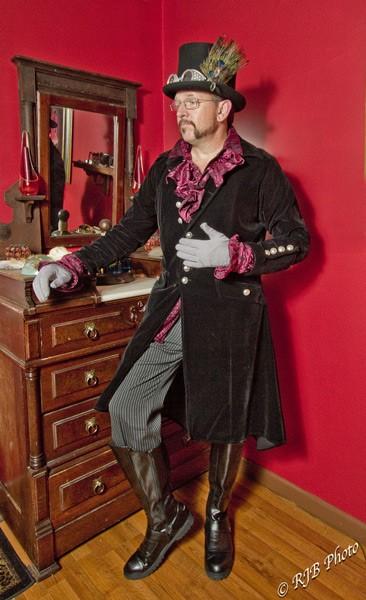 Victorian Steampunk Gentleman