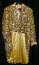 Tailcoat Gold Sequin