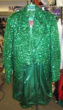 Tailcoat Green Sequin