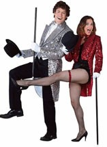 Tailcoat Silver Sequin