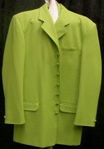 Zoot Suit 44 Lime Green