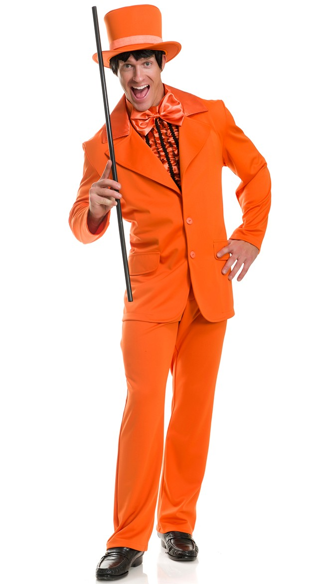 Dumb Dumber Orange Tuxedo