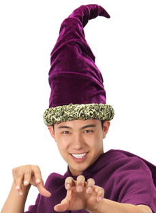 Wizard Hat, Purple