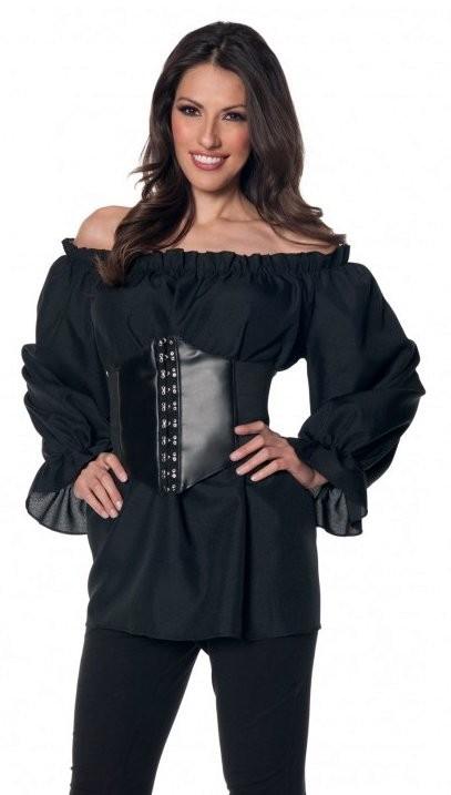 Blouse, Renaissance 3/4 sleeve XL