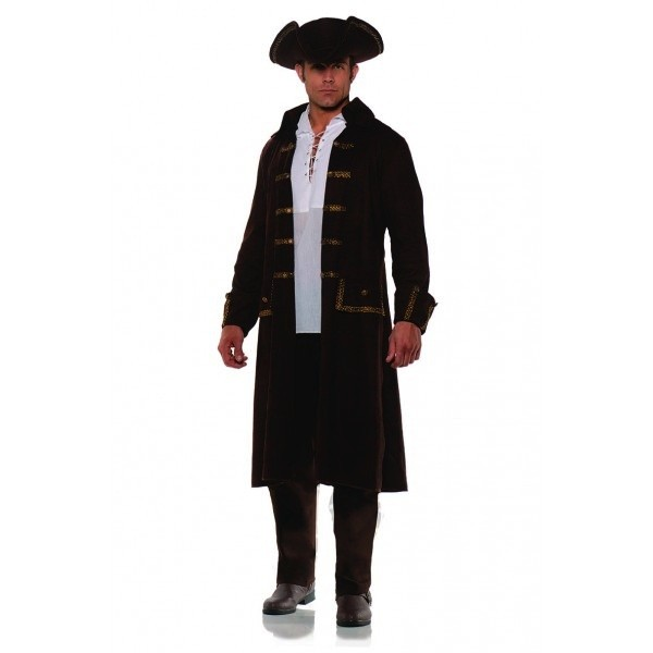 Pirate Coat & Hat Set OS