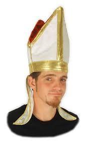 Pope Miter hat, velvet
