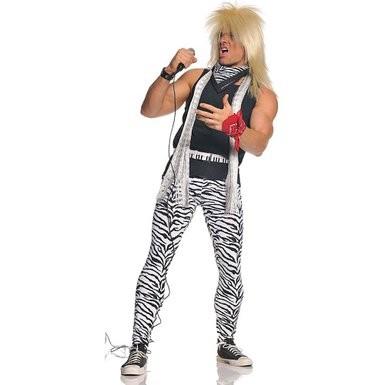 80s Pant Shirt Set, Rocker XXL