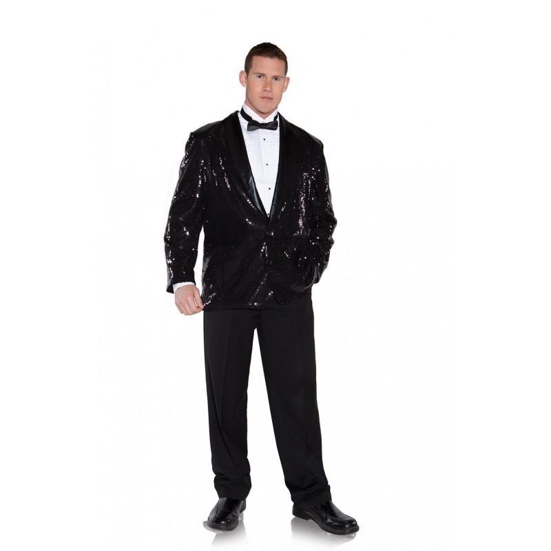 Jacket, Sequin Black O/S