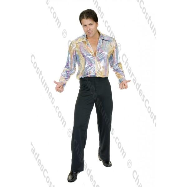 70s Shirt Rainbow Snake